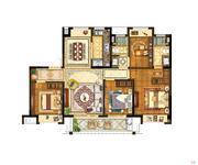 C户型125㎡四室两厅两卫
