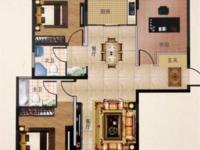 出售翰林壹品3室1厅2卫119.98平米110万住宅